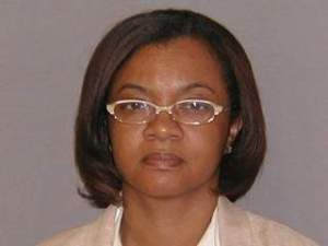 Monica Conyers' booking photo