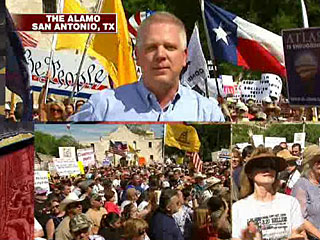 Glenn Beck at The Alamo